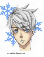 Jack Frost colored sketch by watuni