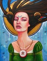 Morgan Le Fay by MoonSpiral