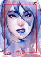 Domino Sketch Card by Ethrendil