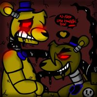 Loving your Darkness (GoldyxDark Goldy FNaF Yaoi) by YaoiLover113