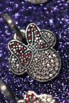 Close Up of Minnie Mouse Bling by MaggieMoonPhotogrphy
