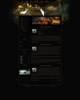 FUSION CMS 6 Theme - Cataclysm PvP by LoomarNet