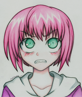 Angry Yoshie by ShuffledYandere