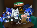 Drinkin contest by GoblinHordeStudios