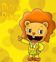 Happy Tree Friends: Disco Bear by SuperLakitu