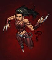 X-23 by ConfuciusRetaliation