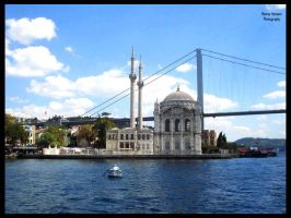 Ortakoy Mosque by Devilicious-Pink