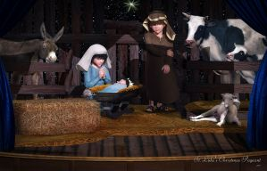 St. Luke's Christmas Pageant by Dani3D