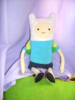 Finn Plushie - Adventure time by Awesome-Lai