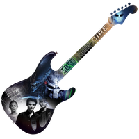 Guitar collage by Gibson-the-mallrat