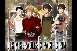 LesMis x Pacific Rim I by SarlyneART
