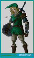Link redesign by SamGreenArt