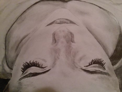Simple Face Sketch by sarahattalla