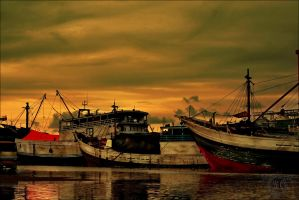 SUNSET__SEMARANG. by DABLEKZ