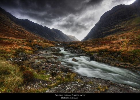 Storm in the Glen by DL-Photography