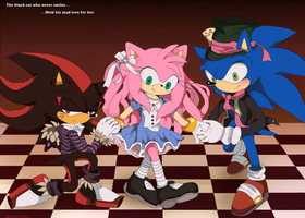 Hedgehogs in Wonderland by koda-soda