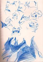 Characters faces 2 by nube