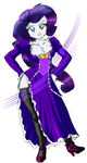 Rarity's Special Costume - Fashion Mistress by RJ-Streak