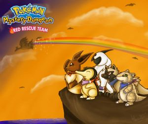 Pokemon Mystery Dungeon: FRPG Style