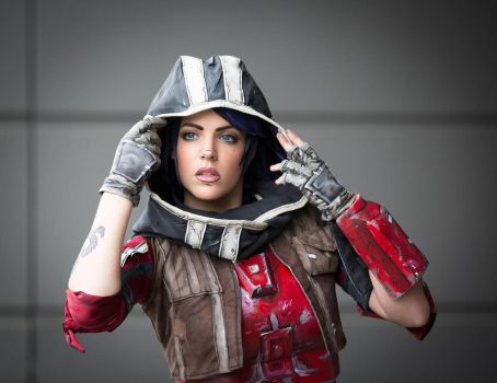 Athena Borderlands the pre sequel cosplay by LiliDin
