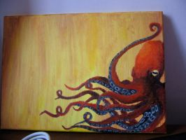 Octopi by walrusgumboots