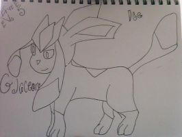Eevee evo 5 Glaceon by jhhgdhjfdtyjvcxdfghj