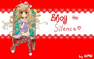 Enjoy the Silence wallpaper by KimuM