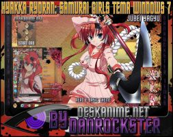 Jubei Yagyu Theme Windows 7 by Danrockster