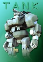 Tank poster by JAW1002