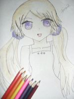 Colorful girl by hayameh03