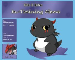 BnB in training meme - morymon by VegaAltair