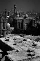 Over the shoulder of Cairo by hosagu