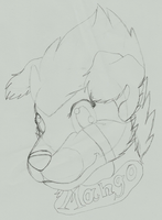 GA: Mango Badge Sketch by KHC1000
