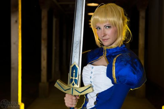 Saber- Print available 6 by Cosmic-Empress