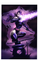 Psylocke by Ironcid