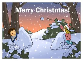 Christmas Card 1 by ketari
