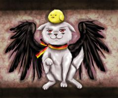 Prussia Cat by Honeysucle10