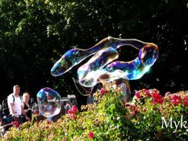 Bubble snake by RavenWithin