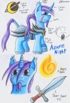 Azure Night Reference Page by The1King