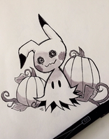 Spoopychu by Phoelion