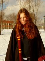 Hermione Cosplay by KateFromMoon
