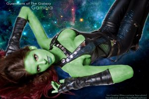 IRON COSPLAY Gamora Guardians of the Galaxy by calgarycosplay