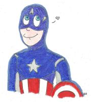 Captain America for Rosie by TheSimpsonsFanGirl