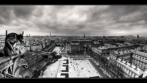 The Big Brother of Paris by ArtSouilleurs