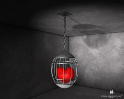Imprisoned Heart by almahy