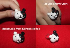 Monokuma from Dangan Ronpa by lkcrafts