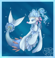 Haupia in the style Primarina by tigersylveon
