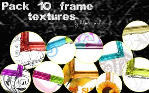 Pack 1O Frame Textures- by helpstutorial
