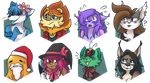 December icons by ClefdeSoll