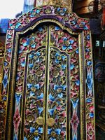 Indian Door by letinhastock